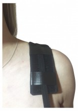 Magnetic Shoulder Strap for rotar cuff injuries, bursitis, arthritis.