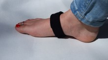 Magnetic Plantar Fasciitis Strap Slimline, Neoprene with VELCRO® Brand Hook and Loop Closure Containing Rare Earth Magnets